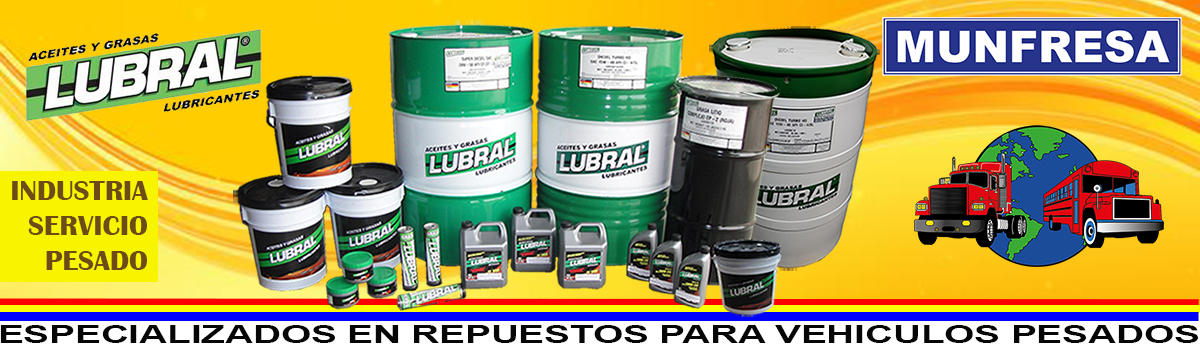 LUBRICANTES LUBRAL